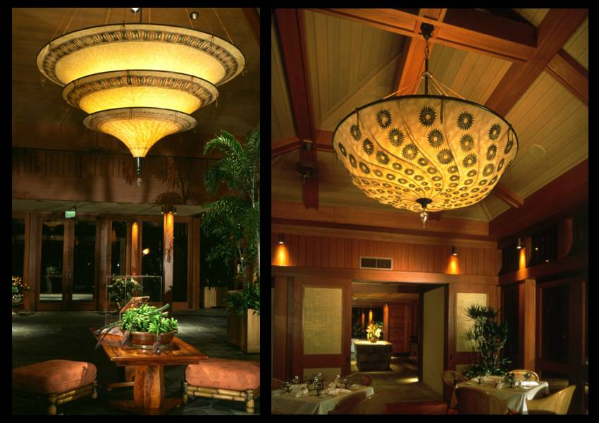 Four Seasons, Hawaii, chandeliers